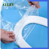 PVA water soluble film for flushable half-fold toilet seat cover