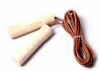 Leather Jump Rope with...