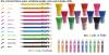 colored hi-polymer pen...