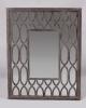 wood frame wall mirror...