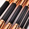 Drop Shipping 14Pcs Makeup Brushes Tool Set Cosmetic Powder Eye Shadow Foundation Blush Blending Beauty Make Up Brush Maquiagem