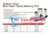 Outdoor Cloth Taped Masking Film