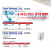 Disposable Paint Mixing Cup