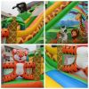 Inflatable bouncy cast...