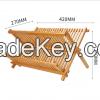 Foldable Bamboo Dish D...