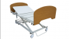king single aged care bed