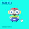 TacoBot, a humanoid co...