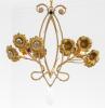 Art Nouveau style bron...