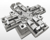Pipe fitting mould for...
