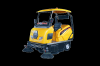 closed industrial sweeper