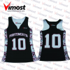 OEM Women' s Custom Team Sublimation Lacrosse Pinnies