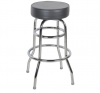 Bar stools Bar Chairs with backrest, chrome plate high quality 360-degree rotatable Swivel