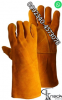 Long welding Labour leather working gloves tig mig fir  fishing gloves cuf