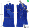 Welding leather labour gloves safe hand fo safety cable construction buling line