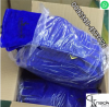 orignal Leather gloves 14 inches blue color wet blue labour leather gloves