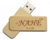 8gb Wooden Twister USB