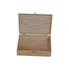 Hot sale unfinished wood box with slide lid