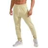 customize men gym yoga bodybuilding sweat pant training jogging track running trouser jogger skinny fleece french terry