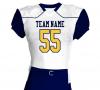 custom football american jerseys shirt uniform adult youth embroidery sublimation printing