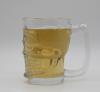 Skull glass MUG, beer ...