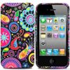 flower silicon tpu gel case for iphone4/4s