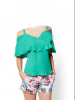 green  top and Blouse