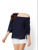 blue  blouses and top