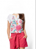 flower design blouses and top
