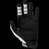 STYLISH WHITE  racing gloves