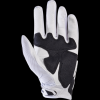 WHITE   racing gloves