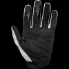 WHITE AND BLACK racing gloves