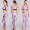 Newest fashion women 3d Muscle Warrior Print Stretchy Sexy Spandex Leggings