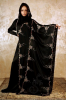 Butterfly Black Islamic Saudi Abaya 2014