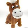 lifelike horse plush t...