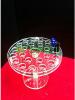 Acrylic crystal detach...