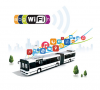 2.4G & 5G Bus WiFi Router, Industrial/Commercial WiFi Hotspot Router