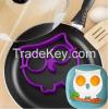 owl-shaped silicone eg...