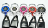 Custom Round Yoyo Badge Reel For Badge Holder with Lighter Leash