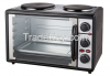 electric oven with hot...