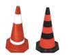 50cm rubber traffic cone