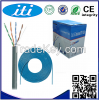 UTP Cat5e Network Cable Cu standard cat5e LAN cable with CE/ISO/ROHS approved