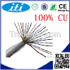 newest product 2pair 23awg stranded  Ethernet telephone cable