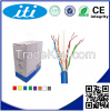 Telecommunications >> Communication Equipment >> Communication Cables Cat6 UTP, 23AWG CCA Black 1000 ft cable in pull box