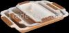 3 Pcs Marble Ceramic C...
