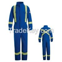 cotton/nylon flame resistant coverall meet NFPA2112, CGSB 155.20