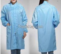 100%polyester anti static anti dust garment