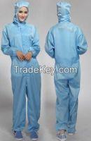 100%polyester ESD garment cleanroom garment
