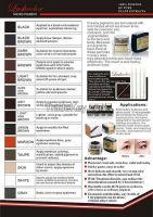 Hot Sale Cream Eyebrow Tattoo Pigment Permanent Makeup Ink Pigment