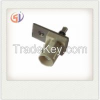 Fakra Straight Plate Series // RF Coaxial SMA SMB SMC MCX MMCX TNC BNC Fakra Type N Connector