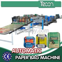 High-Tech Paper Bag Making Machine for Making Multiwall Paper Bag